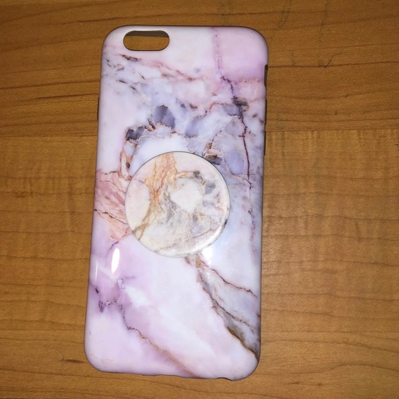 new product 8e52a 59cf9 iPhone 6 case with Pop socket
